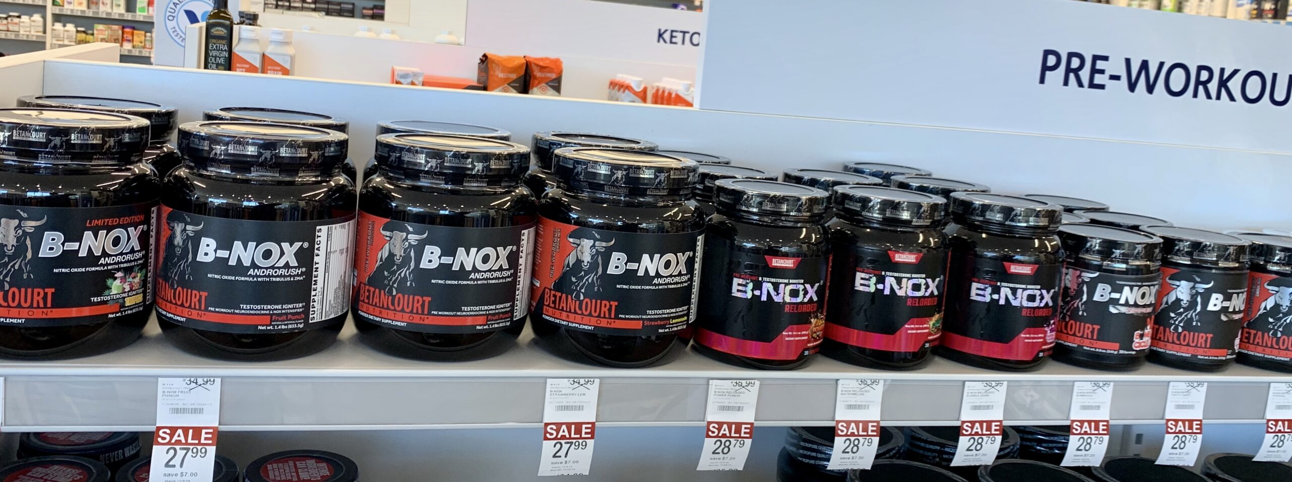 Best place to buy pre workouts - B-Nox pre workout