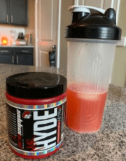 What are the benefits for a preworkout - mr hyde nitro x - drink shaker