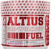 What is the Best Pre Workout for Pump - Altius pre workout