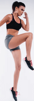pre workout for cardio - woman running