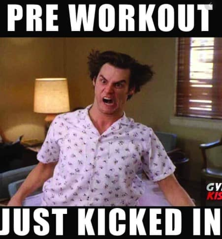 What is pre workout for - Jim Carey acting crazy