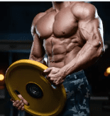 What is the Best Pre Workout for Pump - man lifting plate