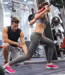 are pre workout drinks safe - woman doing squats