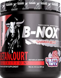 Best pre workout for weight loss - B-nox ripped