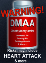 Are pre workouts bad - DMAA warning label