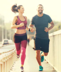 What Does Pre Workout Do For You - couple running