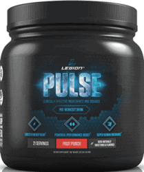 Pre Workout With The Most Caffeine - container of legion pulse pre workout