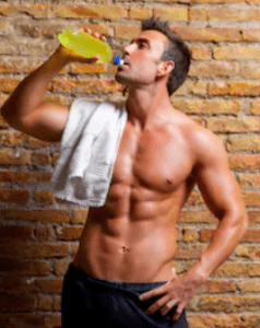 What Is The Best Pre Workout With Creatine - man drinking pre workout drink