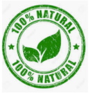All Natural Protein Powders:  All natural is similar to the traditional category, but is manufactured without the use of artificial flavors, artificial colors or artificial sugars. - all natural logo