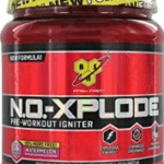 What's The Best Pre Workout Drink - container of no xplode