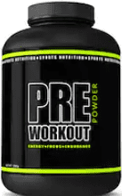 Are pre workouts bad - container of generic pre workout