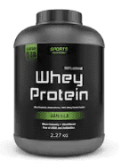 What is the best post workout supplement - container of whey protein