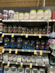 All Natural Organic Pre Workout - picture of Whole Foods supplement section