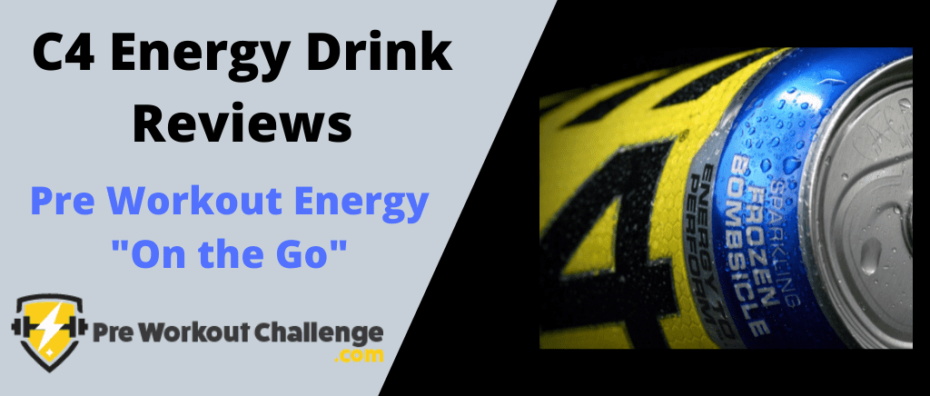 C4 Energy Drink Reviews - me holding c4 on the go