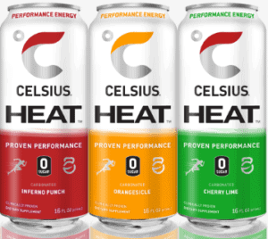Celsius Energy Drink Review - Celsius Heat 3 flavors