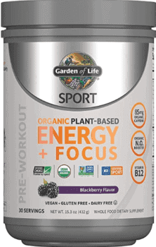 What's The Best Pre Workout Drink - Garden of life organic pre workout energy