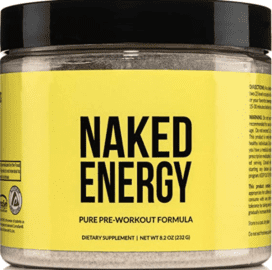 What is Organic Vegan Pre Workout - Naked energy pre workout