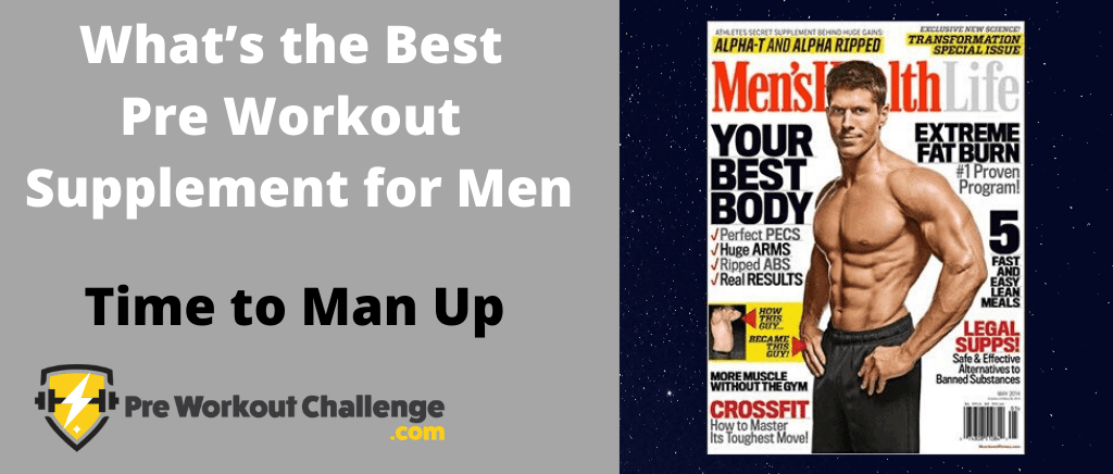What's the Best Pre Workout Supplement for Men
