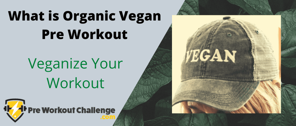 What is Organic Vegan Pre Workout - Veganize Your Workout