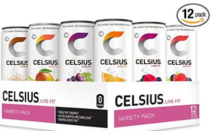 Celsius Energy Drink Review - 12 pack of celsius original