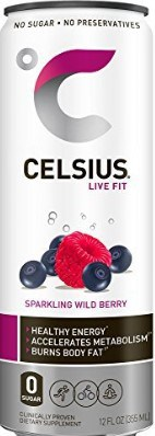 Celsius Energy Drink Review - cans of celsius fitness drink on my countertop