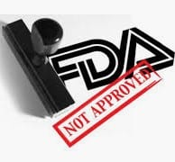 FDA approved pre workout - FDA not approved