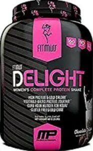 What is the best post workout supplement - Fitmiss Delight container