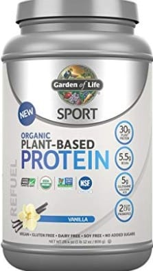 What Is The Best Vegan Protein Powder For Weight Loss - garden of life sport protein powder