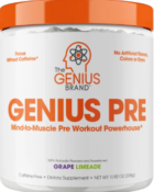 Energy endurance pre workout formula - genius pre workout