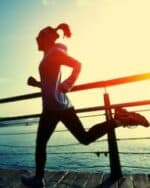 pre workout for cardio - women jogging