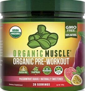What is Organic Vegan Pre Workout - Organic muscle pre workout