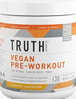 What is Organic Vegan Pre Workout - truth sports vegan pre workout