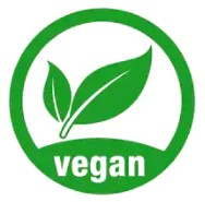What Is The Best Natural Protein Powder - vegan logo