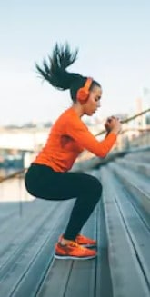 Are pre workout drinks safe - woman jumping