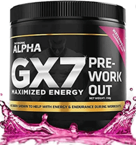 What Is The Best Tasting Pre Workout - Gx7 per workout