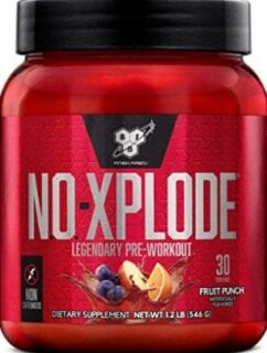 What's The Best Pre Workout Drink - NO xplode pre workout caffeine free