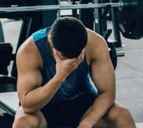 What Is The Best Stim Free Pre Workout - man with nausea