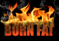 pre workout fat burner - burn fat sign on fire