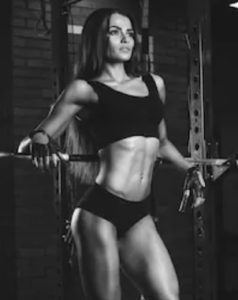 What is a pre workout for - fit girl working out