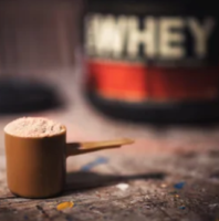 What Is The Best Natural Protein Powder - ON whey protein powder serving cup