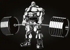 c4 ultimate shred review - animated deadlift