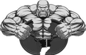 The best muscle growth supplement - animated man flexing
