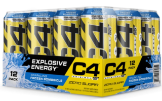 C4 pre workout drink- 12 pack of c4 energy drink