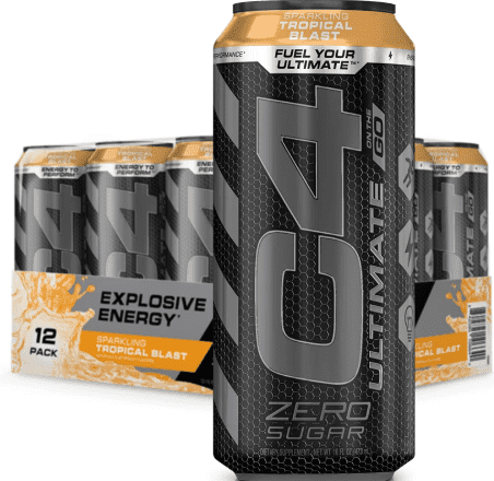 C4 Energy Drink Ingredients - C4 ultimate on the go cans