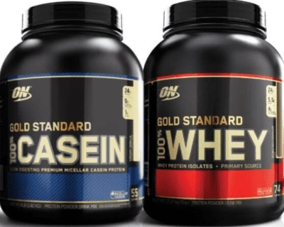 The Best Tasting Protein Powder - whey vs casein side by side