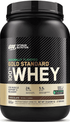 The Best Tasting Protein Powder - Gold standard Whey all natural protein powder
