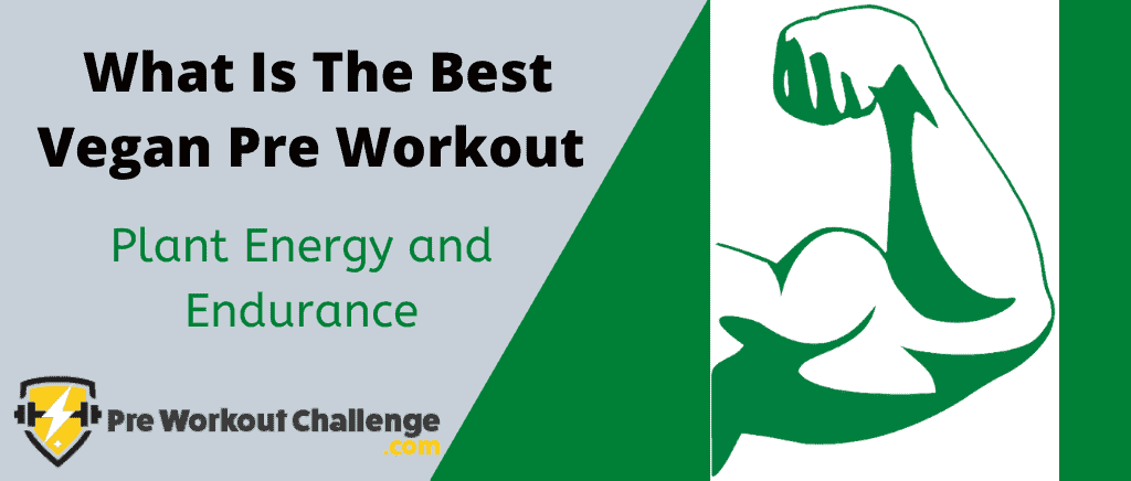 What Is The Best Vegan Pre Workout - Plant Energy and Endurance