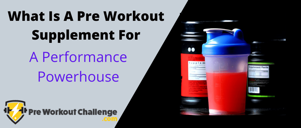 what is a pre workout for