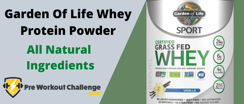 Garden Of Life Whey Protein Powder