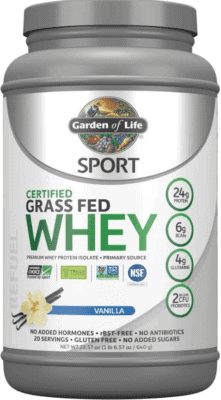 What Is The Best Low Calorie Protein Powder - garden of life whey protein powder